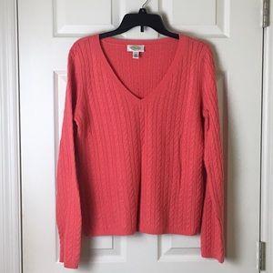 Talbots v-neck sweater